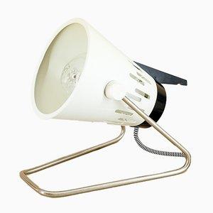Lámpara de mesa de VEB Quarzlampen Markleeberg, años 70