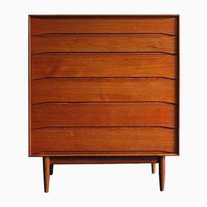 Teak Chest of Drawers by Arne Vodder, 1950s