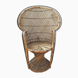 Emmanuel Wicker Side Chair