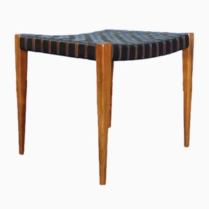 Leather Stool from Wilkhahn, 1950s
