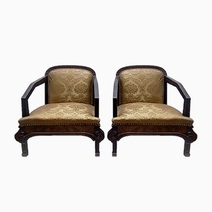 Art Deco Clubsessel, 1930er, 2er Set