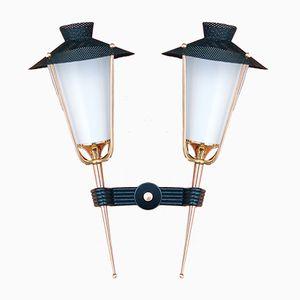 Applique a lanterna di Arlus, anni '50