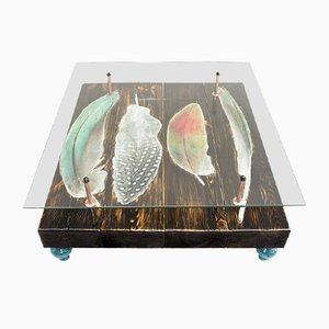 Bird Feather Coffee Table by Cappa E Spada for Anthony Parry