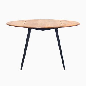 Mid-Century Model 384 Drop Leaf Dining Table by Lucian Ercolani for Ercol