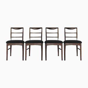 Teak Dining Chairs from Vanson, 1960s, Set of 4