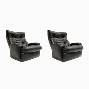Orchid Lounge Chairs by Michel Cadestin for Airborne, 1970s, Set of 2