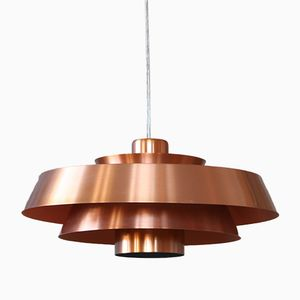 Danish Model Nova Pendant Lamp by Johannes Hammerborg for Fog & Mørup, 1960s
