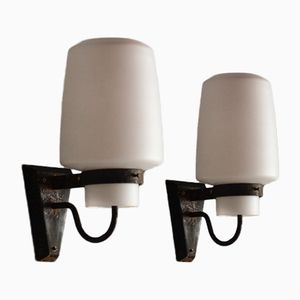 Wall Sconces by Georges Candilis, 1960s, Set of 2