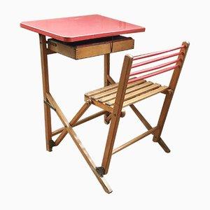 Bureau et Chaise pour Enfant, France, 1960s