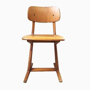 Vintage Beech Children's Chair from Casala, 1960s