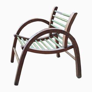 Vintage French Children's Chair from Baumann