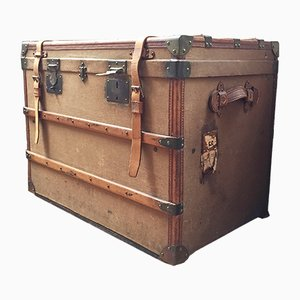 Vintage French Travel Trunk