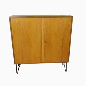 Walnut & Ash Dresser with Hairpin Legs by Georg Satink for WK Möbel, 1954
