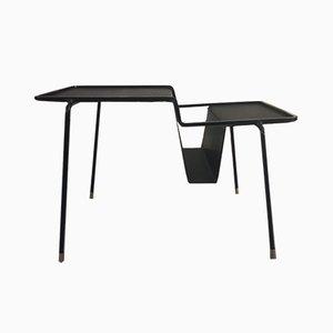Portariviste e tavolino di Mathieu Matégot, anni '50
