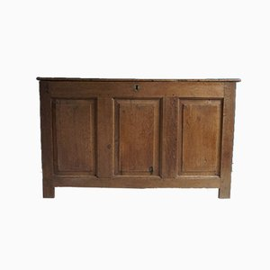 Antique Welsh Oak Coffer
