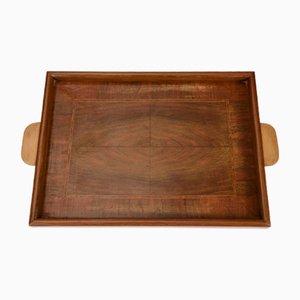 Italian Wooden Tray, 1940s