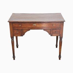 Antiker Schreibtisch aus Nussholz, 1850er
