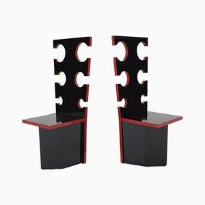 Chaises d'Appoint Vintage par Max Papiri pour Mario Sabot, Set de 2