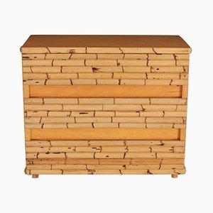Bamboo Dresser by Venturini, 1970s