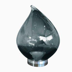 Lampe de Bureau Flik Gris par Karim Rashid pour Puhro