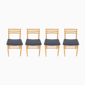 Chaises de Salon, 1970s, Set de 4