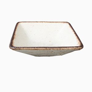 Stoneware Square Bowl by Bruno Gambone, 1970s