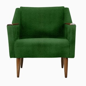 Personalisierbarer kantiger Vintage Sessel