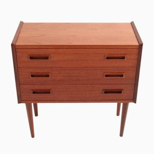 Small Vintage Chest of Drawers in Teak
