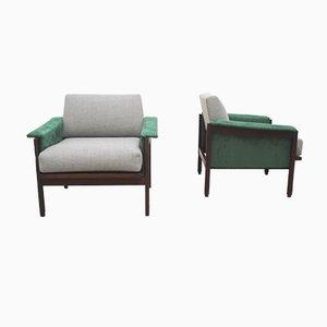 Dänischer Sessel, 1960er, 2er Set