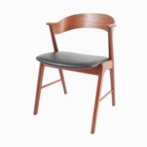 Vintage Beistellstuhl aus Teak von Kai Kristiansen