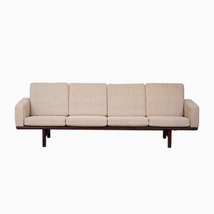Danish Model 236/4 Sofa by Hans J. Wegner for Getama