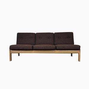 Sofá cama danés Mid-Century de roble