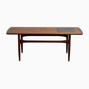 Mid-Century Teak Coffee Table from Arrebø Møbler