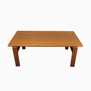 Danish Teak Coffee Table by C. Burchardt-Nielsen, 1970s