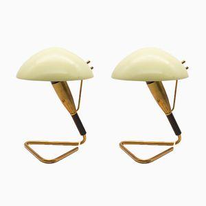 Lampes de Bureau Mid-Century de Stilnovo, 1950s, Set de 2