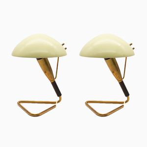 Mid-Century Table Lamps from Stilnovo, 1950s, Set of 2