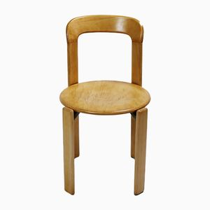 Mid-Century Swiss Stacking Chair by Bruno Rey for Dietiker, 1970s
