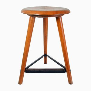 Industrial Workshop Stool from AMA Schemel, 1930s