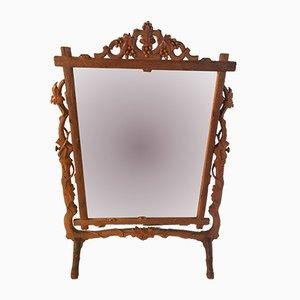 Espejo de tocador, década de 1880