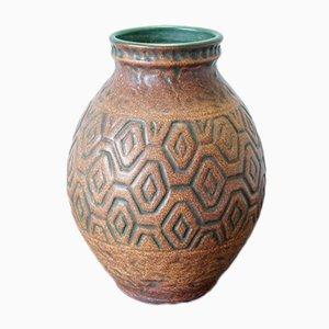 Große westdeutsche Vase von Scheurich, 1960er