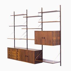 Vintage Rosewood Wall Unit by Rud Thygesen & Johnny Sørensen for Hansen & Guldborg