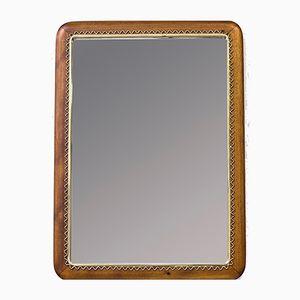 Mahogany Mirror from Svensk Hemslöjd, 1950s