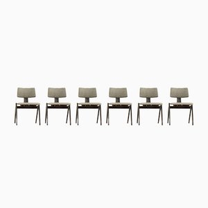 Hillestak Chairs by Robin & Lucienne Day for Hille, 1950s, Set of 6