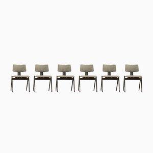 Hillestak Stühle von Robin & Lucienne Day für Hille, 1950er, 6er Set