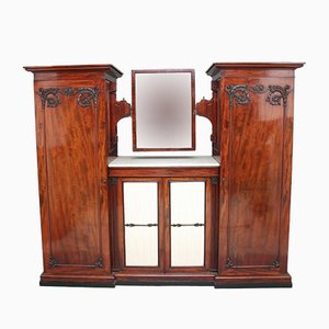 19th Century Mahogany Wardrobe