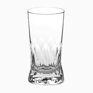 Irish Handmade Crystal Cuttings Series Water Glass by Martino Gamper for J. HILL's Standard