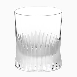 Irish Handmade Crystal Cuttings Series Whiskey Glass by Martino Gamper for J. HILL's Standard