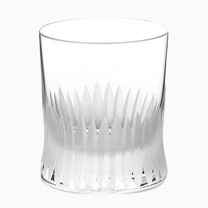 Vaso de whisky serie Cutting irlandés hecho a mano de cristal de Martino Gamper para J. HILL's Standard