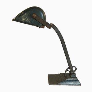 Lámpara de mesa de banquero Bauhaus de Horax, años 30