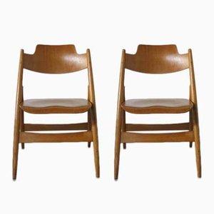 Chaises Pliantes Vintage par Egon Eiermann pour Wilde+Spieth, Set de 2